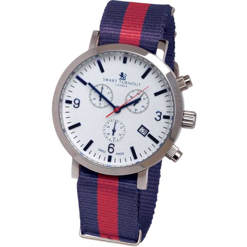 Mens Smart Turnout London Watch Household Division Chronograph Watch