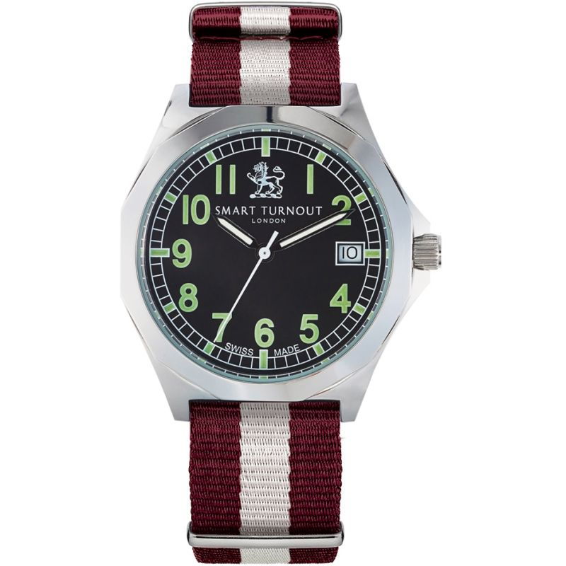 Mens Smart Turnout Military Watch Harvard University Watch STA/56/W-HARV