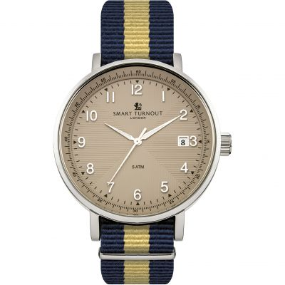 Smart Turnout Scholar Watch Beige Princess Of Wales's Regiment Herrenuhr in Blau STH3/BE/56/W-WA