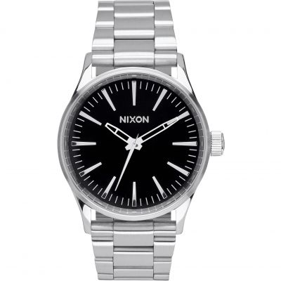 Mens Nixon The Sentry 38 SS Watch A450-000