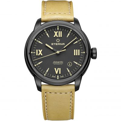 Mens Eterna Adventic Date Automatic Watch 2970.43.42.1353