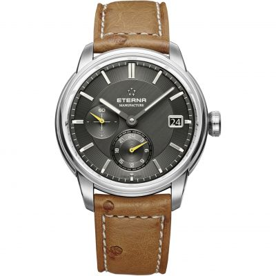 Eterna Adventic GMT Herrenuhr in Braun 7661.41.56.1352