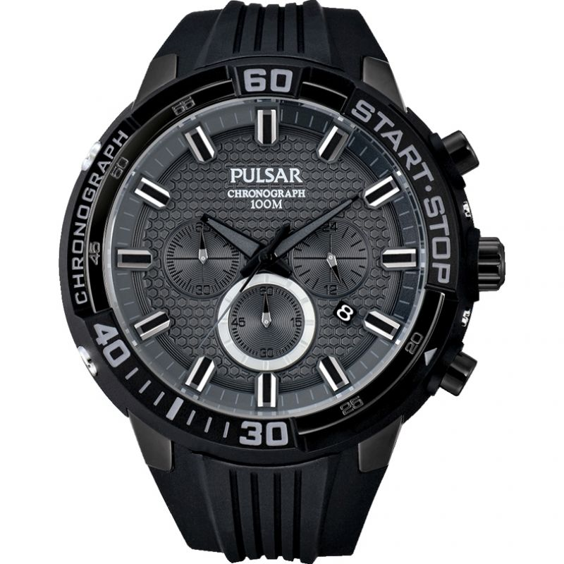 Mens Pulsar Chronograph Watch PT3699X1