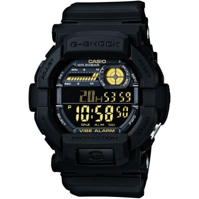 Montre Chronographe Homme Casio G-Shock Vibrating Timer GD-350-1BER