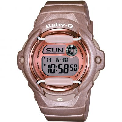 Ladies Casio Baby-G Alarm Watch BG-169G-4ER