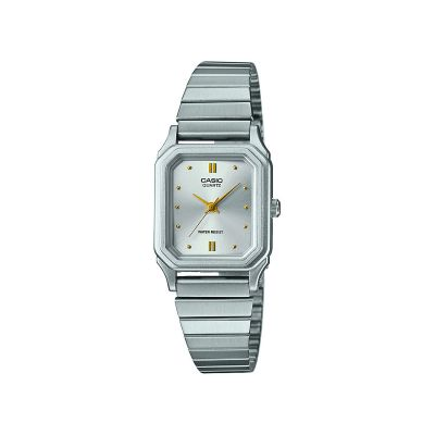 Casio Core Collection Damenuhr in Silber LQ-400D-7AEF