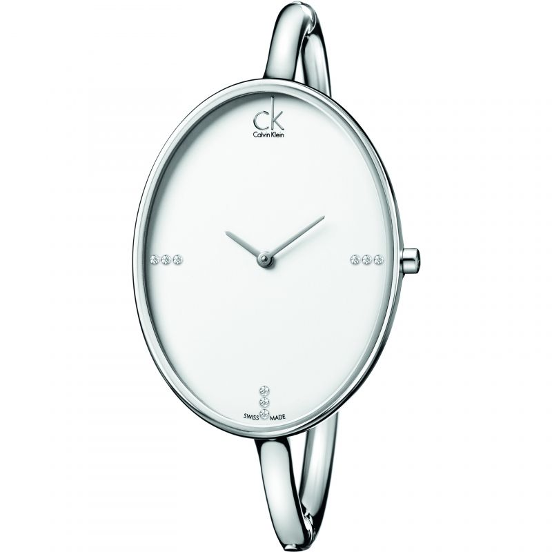 Ladies Calvin Klein Sartoria Small Bangle Diamond Watch