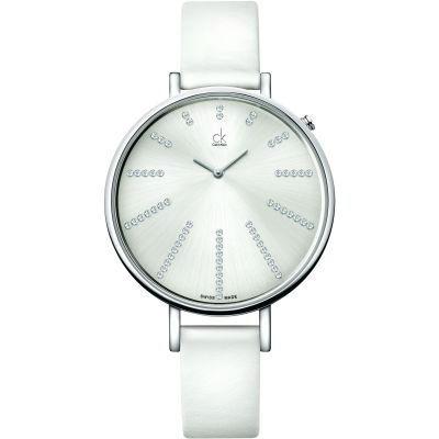 Ladies Calvin Klein Equal Diamond Watch K3E231LW