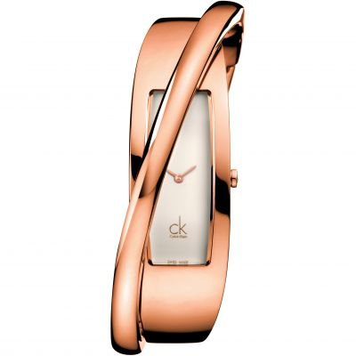 Ladies Calvin Klein Feminine Small Bangle Watch K2J24601