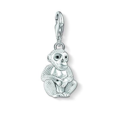 Ladies Thomas Sabo Sterling Silver Charm Club Monkey Charm 1293-007-11
