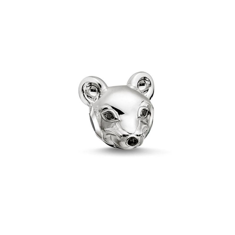 Ladies Thomas Sabo Sterling Silver Karma Beads Mouse Bead K0166-041-12