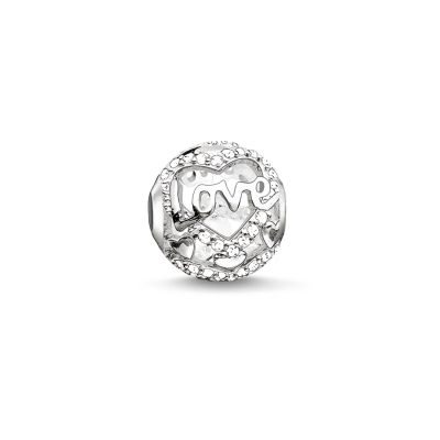 Ladies Thomas Sabo Sterling Silver Karma Bead K0177-051-14