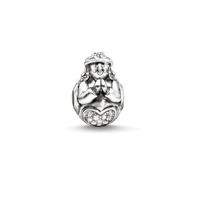 Ladies Thomas Sabo Sterling Silver Karma Bead K0182-643-14