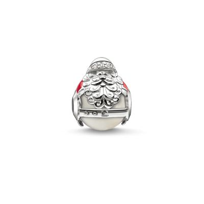 Ladies Thomas Sabo Sterling Silver Karma Beads Santa Claus Bead K0185-149-27