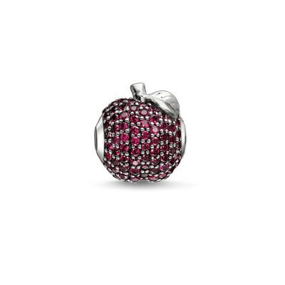 Ladies Thomas Sabo Sterling Silver Karma Beads Red Apple Bead K0188-639-10