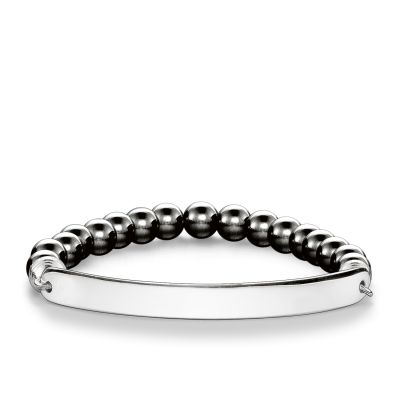 Damen Thomas Sabo Love Bridge Armband Sterling-Silber LBA0014-064-5-L17.5