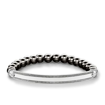 Damen Thomas Sabo Love Bridge Armband Sterling-Silber LBA0016-808-5-L18.5