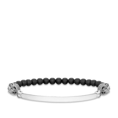 Ladies Thomas Sabo Sterling Silver Love Bridge Bracelet LBA0017-812-11-L17.5