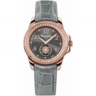 Thomas Sabo Glam Chic Damklocka Grå WA0239-274-210-33MM