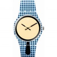 Unisex Swatch New Gent - Moitie Moitie Watch