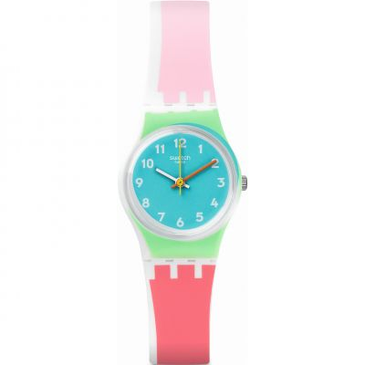 Swatch Originals Lady De Travers Unisexuhr in Mehrfarbig LW146