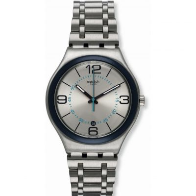 Swatch Irony Big Classic Herrenuhr in Silber YWS413G