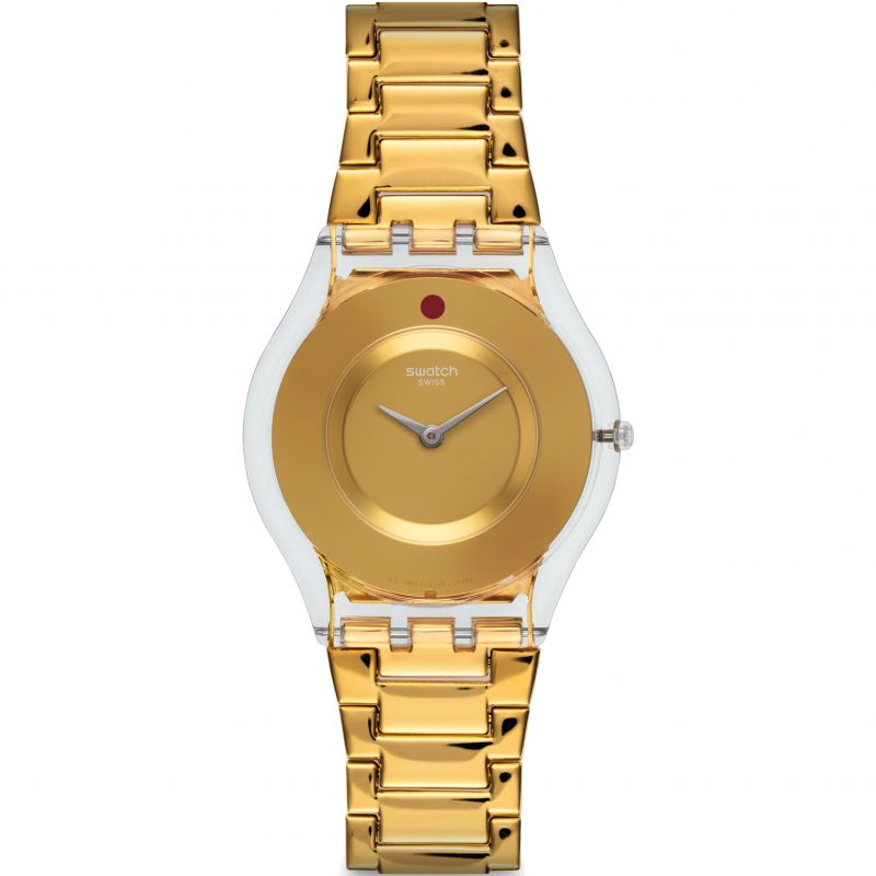 Ladies Swatch Skins Watch SFK399G