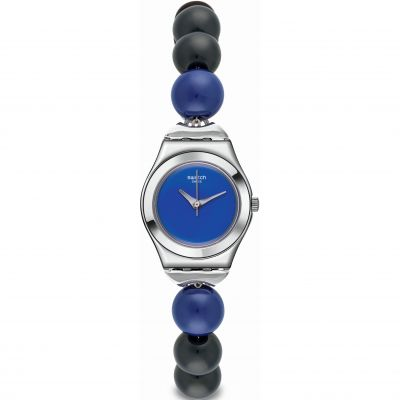 Swatch Irony Small Damenuhr in Schwarz YSS294G