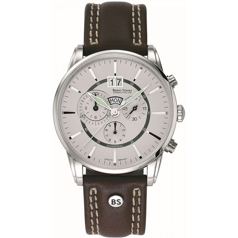 Mens Bruno Sohnle Atrium Watch 17-13054-241