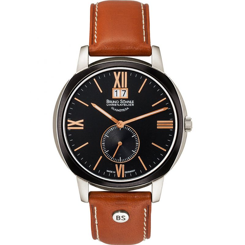 Mens Bruno Sohnle Facetta Watch