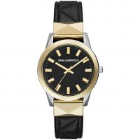 Ladies Karl Lagerfeld Labelle Stud Watch