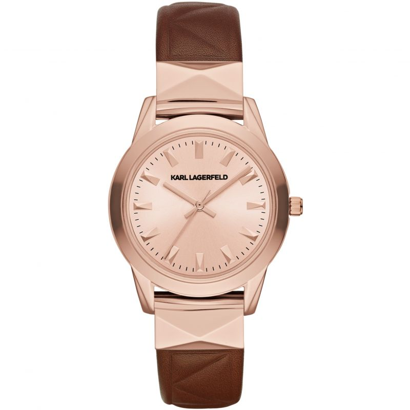 Ladies Karl Lagerfeld Labelle Stud Watch KL3803