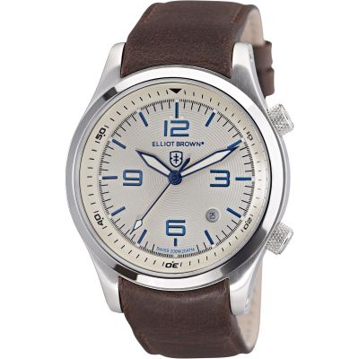 Elliot Brown Canford Herenhorloge Bruin 202-001-L09