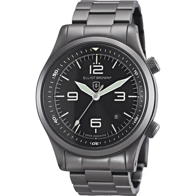 Mens Elliot Brown Canford Watch 202-004-B05