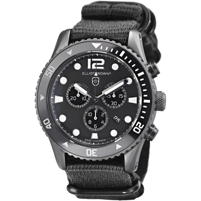 Mens Elliot Brown Bloxworth Chronograph Watch 929-001-N02
