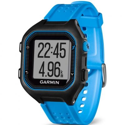 Garmin Forerunner 25 Bluetooth Smart Herrenchronograph in Blau 010-01353-11
