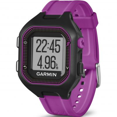 Unisex Garmin Forerunner 25 Bluetooth Smart Alarm Chronograph Watch 010-01353-30