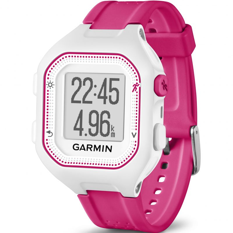Unisex Garmin Forerunner 25 Bluetooth Smart Alarm Chronograph Watch 010-01353-31