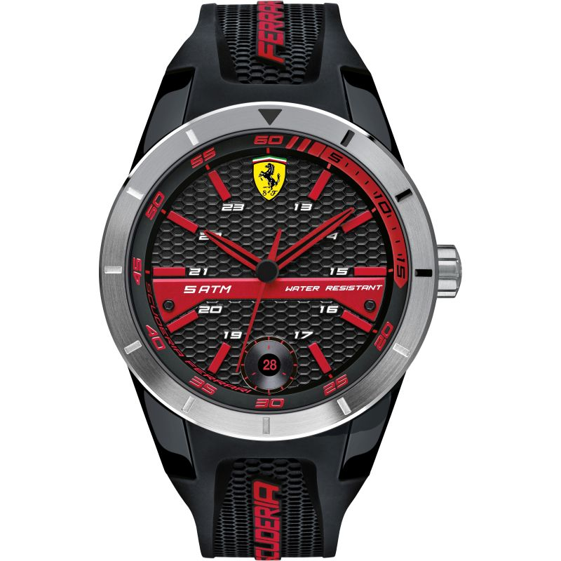 Mens Scuderia Ferrari RedRev T Watch 0830253