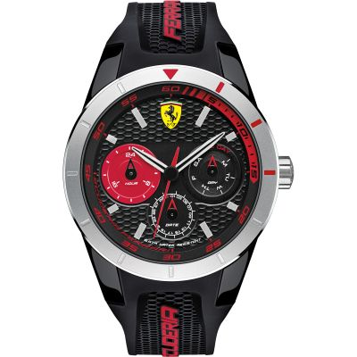 Mens Scuderia Ferrari RedRev T Watch 0830254