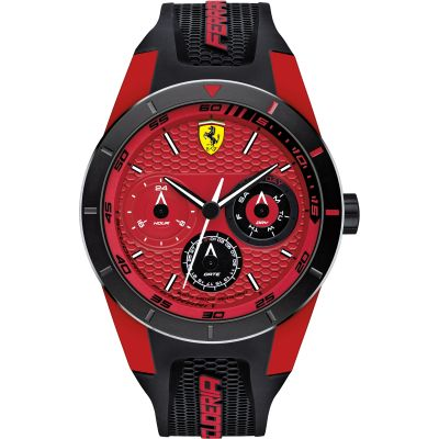 Mens Scuderia Ferrari RedRev T Watch 0830255