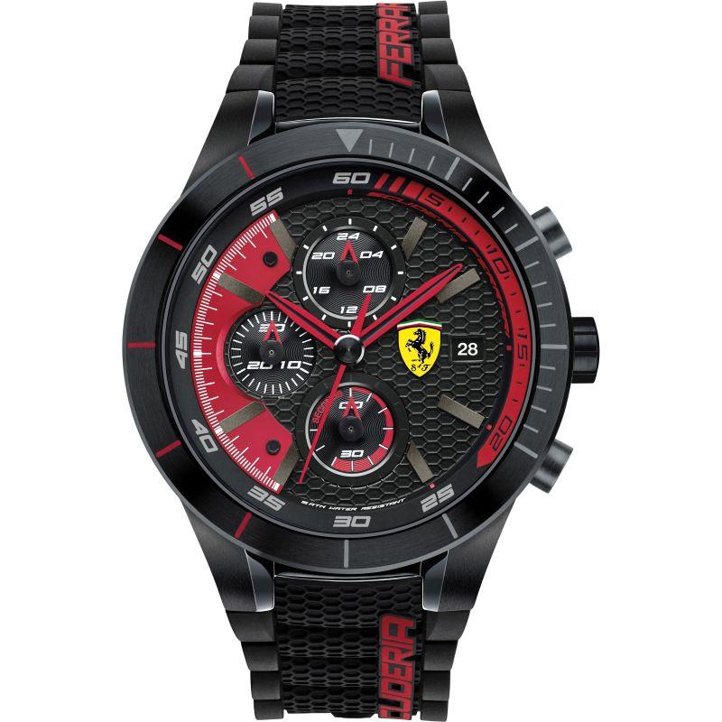 Mens Scuderia Ferrari RedRev Evo Chronograph Watch
