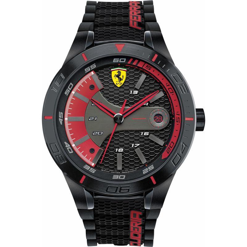 Mens Scuderia Ferrari RedRev Evo Watch