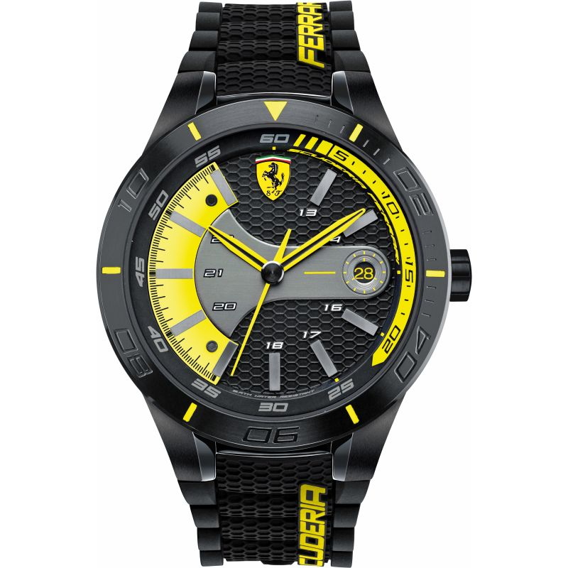 Mens Scuderia Ferrari RedRev Evo Watch 0830266