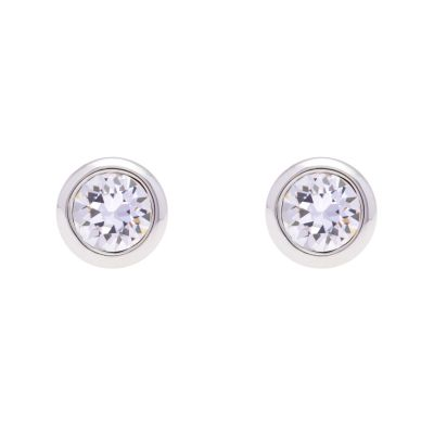 Ladies Ted Baker Stainless Steel Sinaa Crystal Stud Earring TBJ1084-01-02