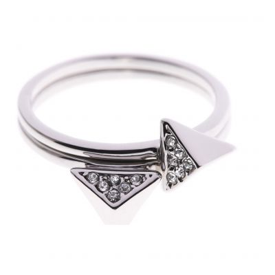 Biżuteria damska Karen Millen Jewellery Double Arrow Ring Large KMJ864-01-02L