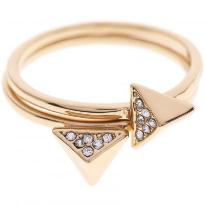 Biżuteria damska Karen Millen Jewellery Double Arrow Ring Large KMJ864-22-23L