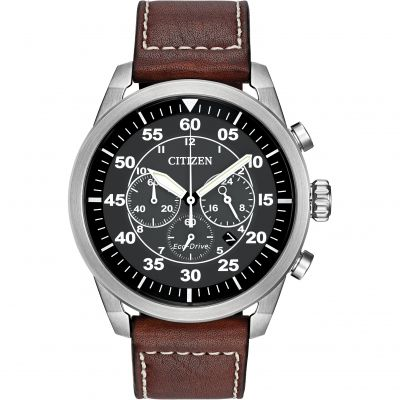 Citizen Avion Herrenchronograph in Braun CA4210-24E