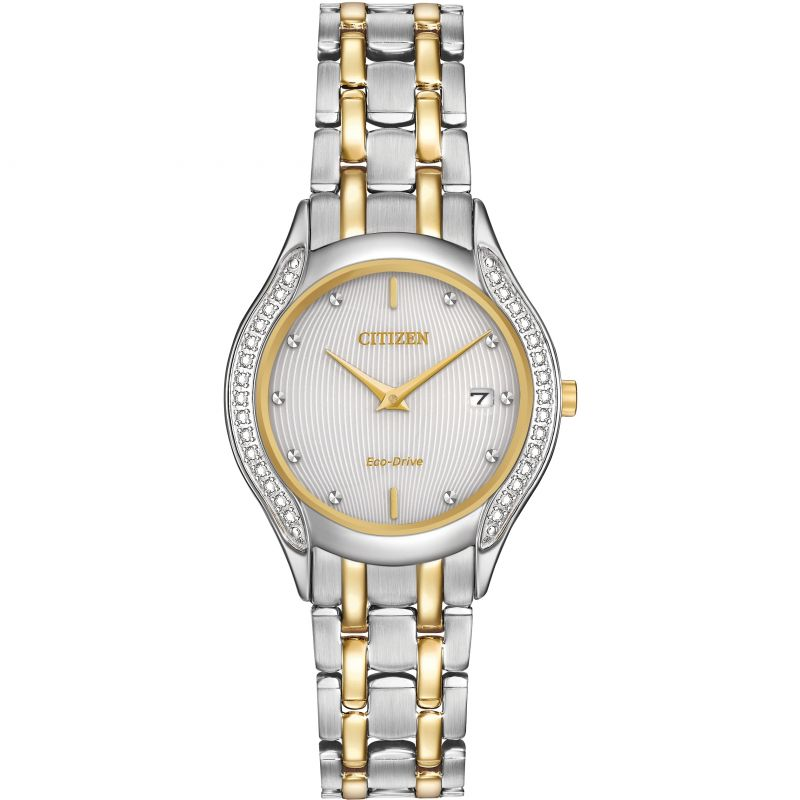 Ladies Citizen Silhouette Diamond Watch