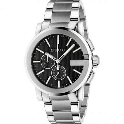Gents Gucci G Chrono Watch YA101204